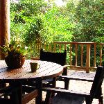  Coolara - Morning cuppa on the deck