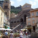 Amalfi cathedral...spot the castle
