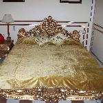 Our golden bed!!