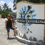 Me in front of residencia dominicana