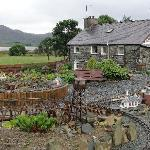 Farmhouse and Model Railway