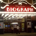 The Victory Garden Biograph Theatre... The place where John Dillinger was shot, and the place wh