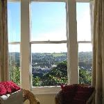 View of Lostwithiel from the bedroom