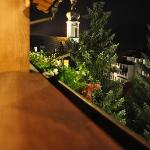 Night Time View Off Balcony
