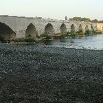 Beaugency's  bridge over the Loire