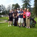  Golfing at Port Alberni GC