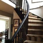  The Winding Staircase to the Bedrooms