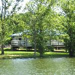 Cabins from the Lake