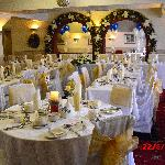  The lovely laid out function room