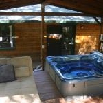 Hot tub and chill out place