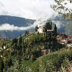 View of Barga from one of Ron's walks