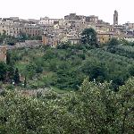 Siena, hilltop city just across the valley