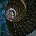 The staircase - wider than it looks!