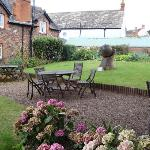  Garden at Luttrell Arms