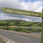 Typical Port Bannatyne sign and view near hotel.