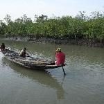 The mangrove jungle and local fishermen