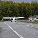  plane on roadway!