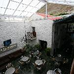 Cafe/restaurant area, Consulate Hotel