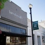 The front of Sam Kendall's, a historic building built in the mid 1880's.