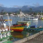 a scenic view of Paraty
