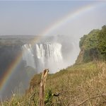 A permanent rainbow when you're at Victoria Falls!