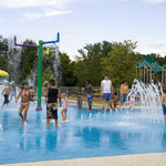 Sprayground at Riverside Park