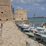 Koules Fortress and harbor at Iraklio, Crete