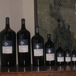Flaccionello wine bottles