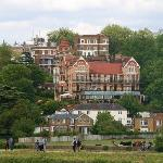 View of The Petersham from on The Thames