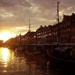  Sunset in Nyhavn