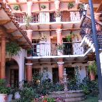 La Casa de Mama- from courtyard, view of rooms