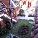  La Casa de Mama- courtyard and fountain