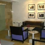  Lounge with photo exhibition