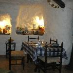 Gusets dining area