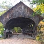 Covered bridge Newry Maine