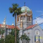 This the Flagler Church that Flagler himself had build for his daughter and grandchild that pass