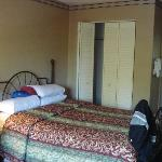 One of two bedrooms in the suite, all other bedrooms in the motel are identical to this.