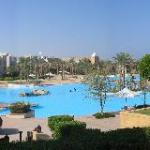 The Salt water lagoon serving Palace and Crowne Plaza