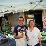  Market in Serralunga with dinner purchase