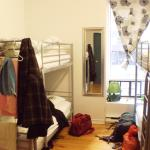 Girls dorm.....Very quiet...Great for a sleep in