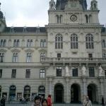 Town Hall of Graz, the second-largest city in Austria after Vienna.