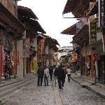 Shangri-La Old Town walking street (1/2-block from hotel)
