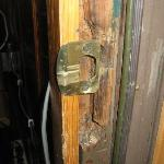  Main door jam. You see the front door didn&#39;t really lock either! So anyone could walk in!!!!!!!!