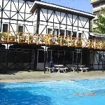 Beautiful Sunny Place by the Swimming Pool