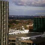 View from my hotel- Jurys Croydon