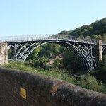 The Iron Bridge. Cast Iron construction