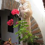  Padre statue near my room. Former convert relic?