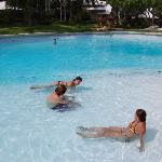 this is the pool at the very nice sister resort, you can go there for free if you stay and the c