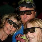  Us at Mvieworld, our favourite themepark, this was Shrek 4D excellent, a must