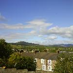 Crieff - view from hotel